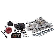 Edelbrock 35930 Pro Flo 4 Fuel Injection Kit, Satin Finish