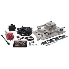 Edelbrock 35970 Pro Flo 4 Fuel Injection Kit, Satin Finish