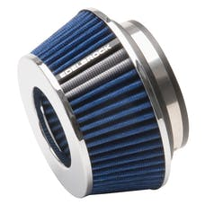 """Edelbrock 43613 Pro-Flo Universal Blue Compact Conical Air Filter with 3"""", 3.5"""", and 4"""" Inlet"""