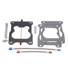 Edelbrock 70061 XX RPM Nitrous Plate Kit for Spread-bore Carburetor Flange