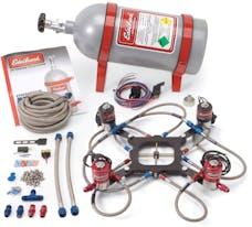 Edelbrock 70066 Victor Jr. 2-Stage Nitrous System (Standard Flange)