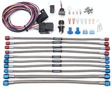 Edelbrock 70068 Nitrous System, Upgrade Kit, 2-Stage, Victor Jr., Square Flange