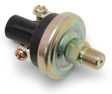 Edelbrock 72209 XX Pressure Deactivation Switch (Adjustable from 3-25 psi)