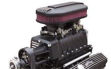 Edelbrock 15213 E-Force RPM Supercharger System, Black