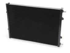 "Edelbrock 15569 HEAT EXCHANGER SC UNIVERSAL 24""x16.5""x2.12"" DUAL PASS SINGLE ROW BLACK"