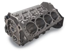 "Edelbrock 450020 XX ENGINE BLOCK, GM SBC SIAMESE 4.125"" BORE 9.025"" DECK HEIGHT CAST IRON"