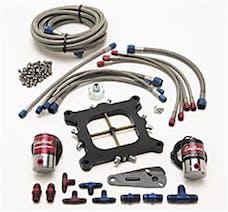 Edelbrock 70014 XX Victor Jr. Nitrous Plate Kit for 4150 Square-bore Carburetor