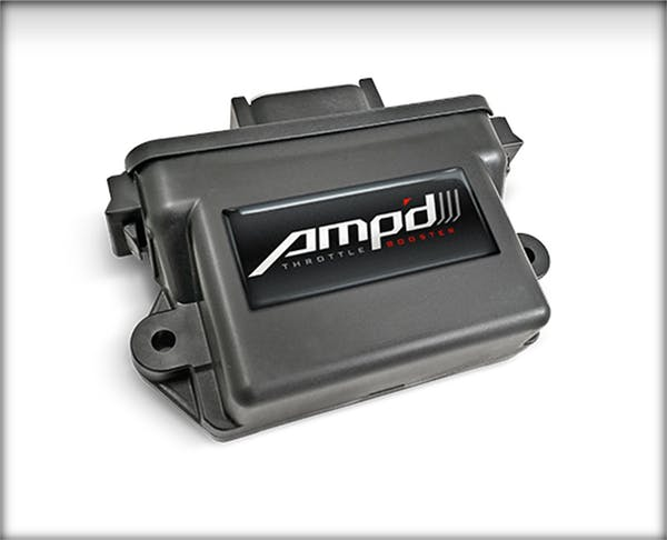 Edge Products 48858-JL Amp'D Throttle Booster,18-19 Jeep Wr