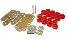 Energy Suspension 2.4111R Body Mount Set with hardware