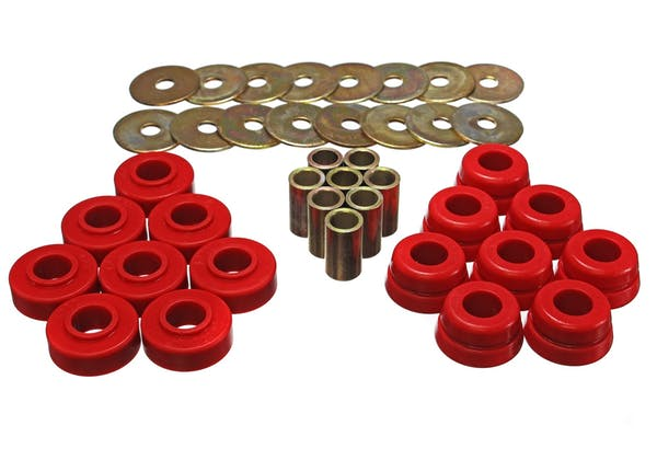 Energy Suspension 3.4126R Body Mount Set w/Hardware