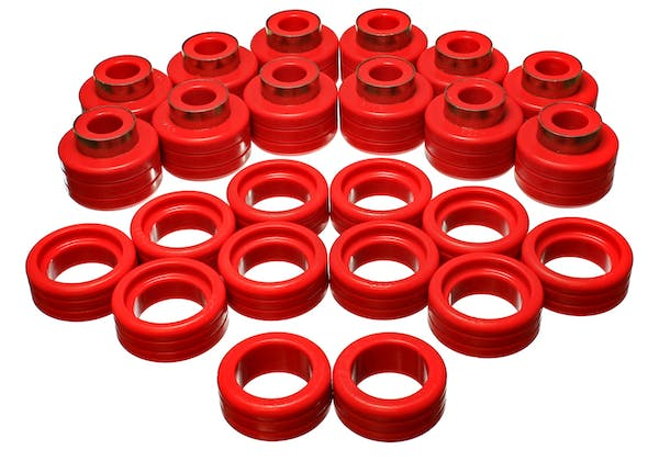 Energy Suspension 3.4148R Body Mount Bushing Set