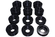 Energy Suspension 4.4125G Body Mount Set, Black Performance Polyurethane