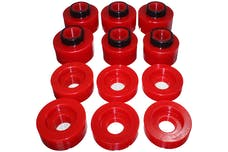 Energy Suspension 4.4125R Body Mount Set, Red Performance Polyurethane