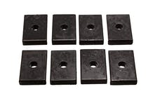Energy Suspension 9.9536G Polyurethane Body Bushing Pad Set, Rectangle