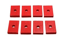 Energy Suspension 9.9536R Polyurethane Body Bushing Pad Set, Rectangle