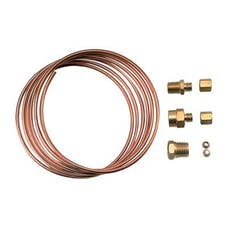 Equus 9901 Tubing Kit, Copper, 6 Ft, Includes Compression Fittings