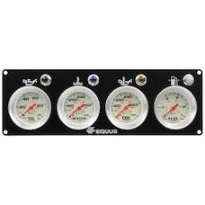 AutoMeter Products E8403P Race Panel, Oil Pressure, Water Temperature, Oil Temperature, Fuel Pressure