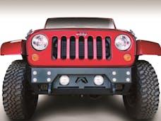 Fab Fours, Inc JK07-B1855-1 Premium FMJ Stubby Winch Bumper