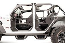 Fab Fours, Inc JL1030-B Front Full Tube Doors Bare Steel