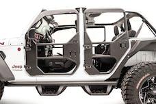 Fab Fours, Inc JL1031-B Rear Full Tube Doors Bare Steel