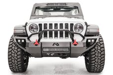 Fab Fours, Inc JL18-D4652-B Vengeance Front Bumper with Pre-Runner Guard Bare Steel