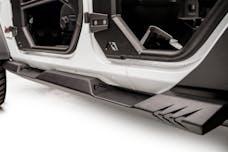 Fab Fours, Inc JL18-G1550-B 4 Door Lightweight Rock Sliders Bare Steel