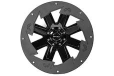 "Fab Fours, Inc SL2407-1 24"" Wheel Ring 'SAW BLADE' 4PK"