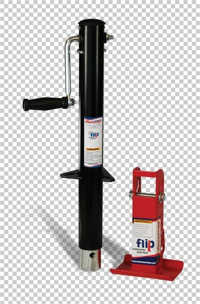 """Fastway 88-00-6265 Side Wind Jack With 6"""" Flip Automatic Jack Foot"""