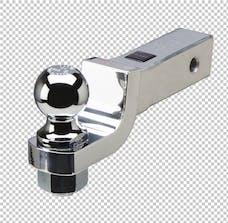 Fastway DT-BM5200 2in drop - 1 1/4in hole Alum Anti-Rattle Ball Mnt