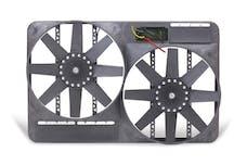 "Flex-A-Lite 298 Fan Electric 13 1/2"" dual shrouded puller w/o controls"