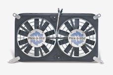 "Flex-A-Lite 675 Fan Electric 12"" dual shrouded puller w/ controls"