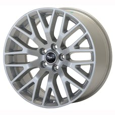 Ford Racing M-1007-M1995S WHEEL PERF PACK 19X9.5 SILVER MUSTANG 2015