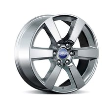 Ford Racing M-1007-P2085S 2015 F-150 20 X 8.5 SIX SPOKE WHEEL-SPARKLE SILVE
