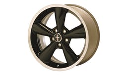Ford Racing M-1007-S1885B WHEEL 18IN. BLACK MUSTANG