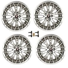 Ford Racing M-1007K-M19XS WHEEL KIT PERF PACK SILVER MUSTANG 2015