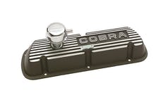 Ford Racing M-6582-F302 VALVE COVER SET BLK COBRA