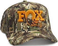 Fox Factory Inc 495-01-222 2017; FOX Camo Trucker Hat; O/S