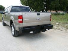 Frontier Truck Gear  100-10-4009 Diamond Rear Bumper No Drill Installation
