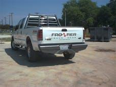 Frontier Truck Gear  100-10-8008 Diamond Rear Bumper No Drill Installation