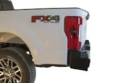 Frontier Truck Gear  100-11-7008 Diamond Rear Bumper No Drill Installation