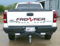 Frontier Truck Gear  100-20-1007 Diamond Rear Bumper No Drill Installation