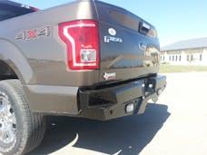 Frontier Truck Gear  100-11-5010 Diamond Rear Bumper No Drill Installation