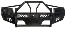 Frontier Truck Gear  600-31-1005 Xtreme Heavy Duty Front Bumper With Wrap Around Grille Guard