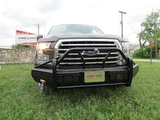Frontier Truck Gear  600-51-5005 Xtreme Heavy Duty Front Bumper With Wrap Around Grille Guard