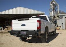 Frontier Truck Gear  100-11-7009 Diamond Rear Bumper No Drill Installation