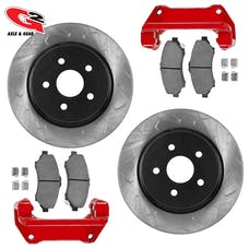 G2 Axle and Gear 79-2050-1 JK BIG BRAKE KIT-FRONT