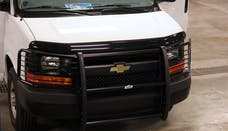 Go Rhino 3155MB 3000 Series StepGuard - Center Grille + Brush Guards