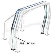 "Go Rhino 90002C Rear Main ""B"" Bed Bar - Chrome"