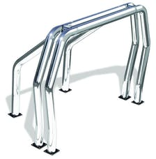Go Rhino 9009516DSC RHINO! Bed Bar - Complete kit: Main bar + Kickers