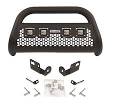 Go Rhino 55654LT RC2 LR - 4 lights - Complete kit: Front guard + Brackets + GR Lights